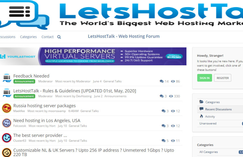 LetsHostTalk Review: A Trusted Web Hosting Forum